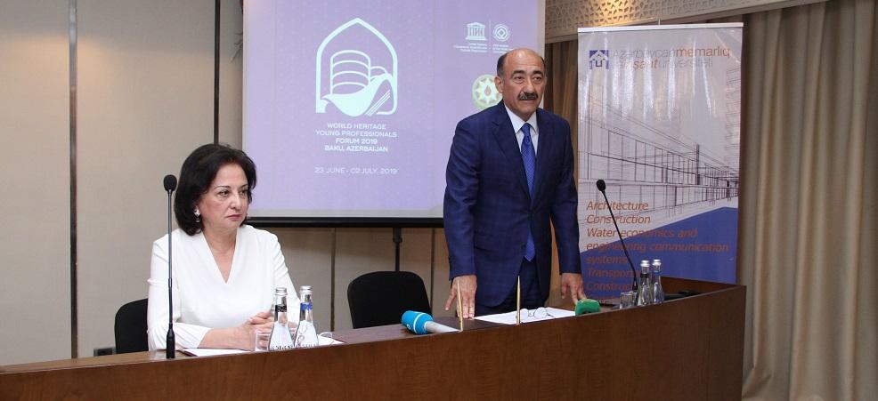 AzMİU-da Dünya İrs Komitəsinin beynəlxalq forumunun açılış mərasimi keçirilib