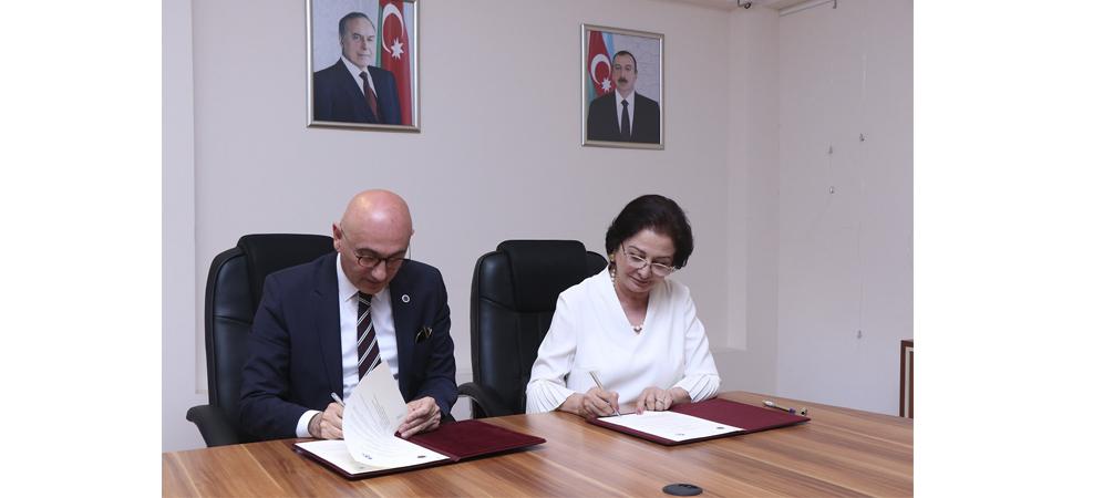 AzMİU ilə Yıldız Texnik Universiteti arasında  Anlaşma Memorandumu və Tələbə mübadilə protokolu imzalanıb