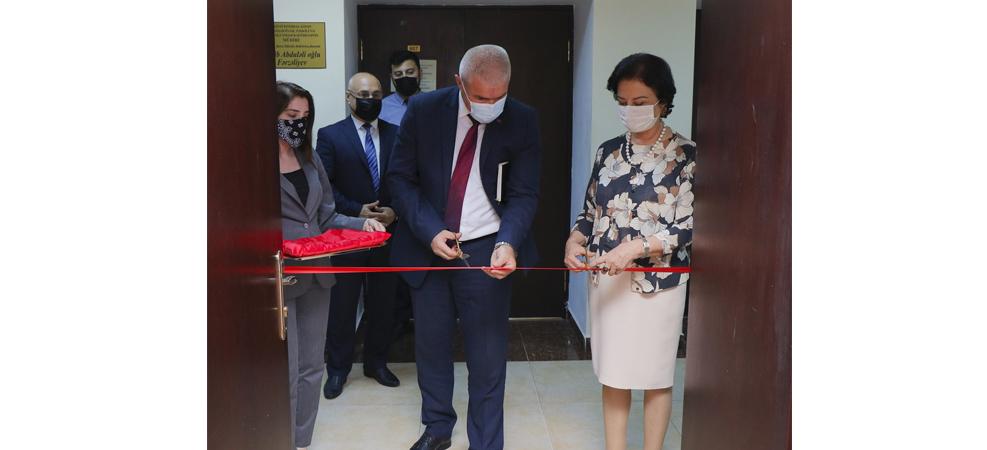 AzMİU-da Tikinti layihələrinin idarə edilməsi laboratoriyasının açılışı olub